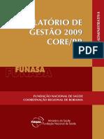 Relatório de Gestão 2009 - Suest RR