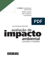 Avaliacao de Impacto Ambiental 3ed Deg