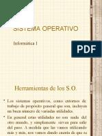 Herramientas del Sistema Operativo