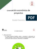 Evaluación económica de proyectos - 3.3 Estudio Financiero