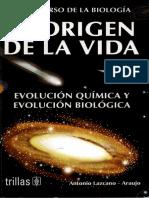 El Origen de La Vida - Antonio Lazcano