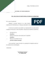 SOL . DE TARJETA PARA COMPRA DE GASOLINA - 2011