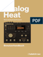 Analog Heat User Manual GER