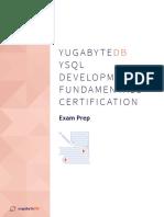 YB-YSQL-Development-Fundamentals-Cert-Prep
