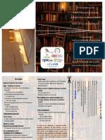Folheto de divulgação do encontro de Bibliotecas[1]