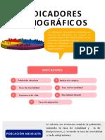 Indicadores Demográficos y Características de La Población PPT