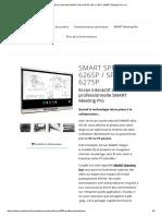 Ecran Interactif SMART Ultra HD 4K _ 65_ Ou 83_ _ SMART Meeting Pro _ IQ