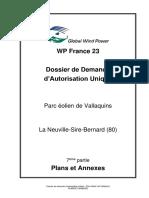 WP_France_23-2018_03 - DDAU - Parc éolien de Vallaquins -07 - Plans et Annexes