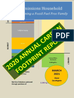 2020 Annual Carbon Footprint Report