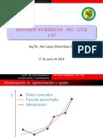316676222 Metodo de Interpolacion y Aproximacion Polinomial Asis Lopez Unasam PDF