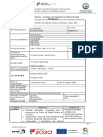 Planificação Termas de Manteigas 1819 com a realão de objetivos e conteúdos no âmbito da disciplina de HSCG