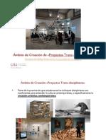 ÁMBITO PROYECTOS TRANSDISCIPLINARES