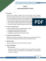 Modul Dasar Word Excel Poperpoint