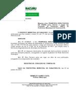 Port. 22- Nomeação Francisca Suely Rocha