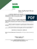 Port. 30 - Nomeação Maria José Leite Neri