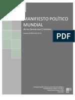 MANIFIESTO POLÍTICO DE LOS DEMOCRATA CRISTIANOS
