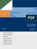 Formation BPF
