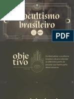 Okean Pesquisa Ocultismo Brasileiro 2019
