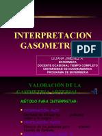 GASOMETRIA ARTERIAL Y VENOSA