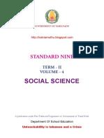 Ix Std Second Term Social Science Em Text Book PDF Kalviamuthu Click Here