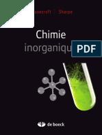 Chimie inorganique de Housecroft & Sharpe