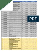 Lista de Treinamento com Valores (Colorido)