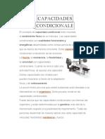 CAPACIDADES CONDICIONALE
