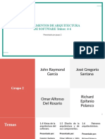 Exposición I Grupo 2 Arquitectura de Software