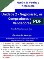 Unidade 2 - Negociação, os Compradores e os Vendedores