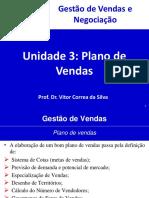 Unidade 3 - Plano de Vendas