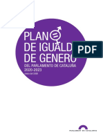 PlaN de Igualdad de Género 2020-2023