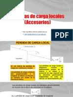 SESION 03 - 7 Perdidas de carga local (Accesorios)1.pdf
