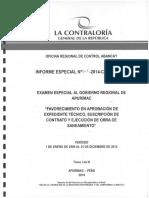 Informe Especial N° 213-2014-CG/ORAB-EE