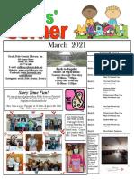3.2021 March Kids Corner