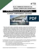 PATERNIDADE ESPIRITUAL - COBERTURA EDP 2020