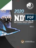 US DEA 2020 National Drug Threat Assessment