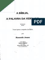 Curso Alfa e Omega-A Bíblia, A Palavra Da Verdade