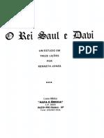 Curso Alfa e Omega-o Rei Saul e Davi
