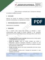 IT-Allmed 04 - Instrução Para Calibração de Medidores Analógico de Pressão - Manômetro - Rev. 00