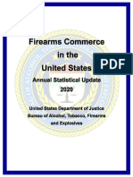 Firearms Commerce in the United States Annual Statistical Update 2020