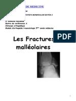 fractures bi-malleolaires