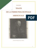 Paracelse - Traité de la pierre philosophale médicinale.pdf · version 1