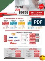 Ayudaventas DTH - Julio 2020