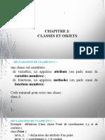 POO en C++ Cours 3