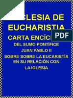 EBOOK-ECCLESIA DE EUCHARISTIA