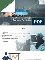 exposé en évaluation des entreprises