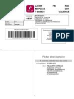 Bordereau Vinted 1408156149