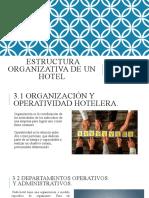 ESTRUCTURA  HOTELERA TEMA 3