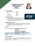 Curriculum Lic. Leyla Ortiz
