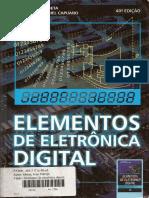 Elementos de Eletrônica Digital 40ed